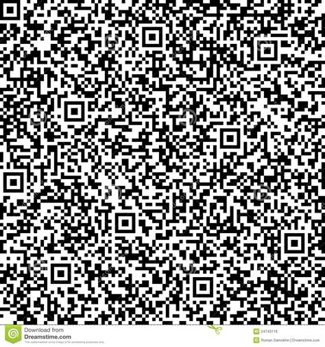 pattern background css code seamless background with qr code pattern royalty free