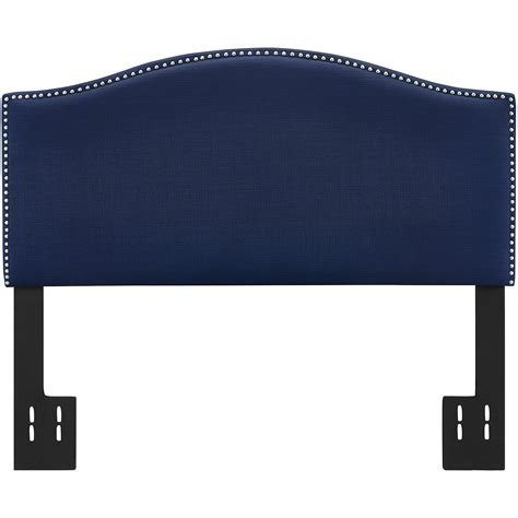 Navy Blue Headboard Better Homes And Gardens Grayson Linen Gallery Including Navy Blue Headboard Picture Hamipara