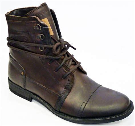 levi boots levi s 174 worker boots retro leather mod