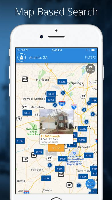 apps for houses for rent rentals homes apartments for rent app report on mobile action