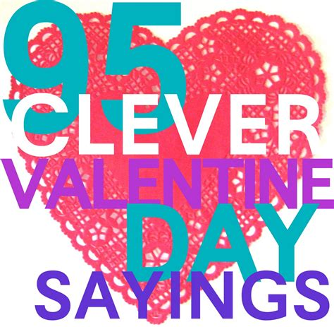 valentines day hearts sayings 150 clever valentines day sayings search