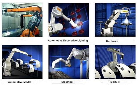 spray painting robot project ikv automatic spray painting robot for metal components