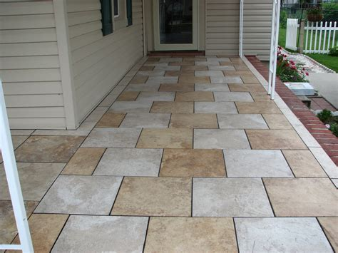 patio floor tiles top 15 flooring materials costs pros cons 2017 2018