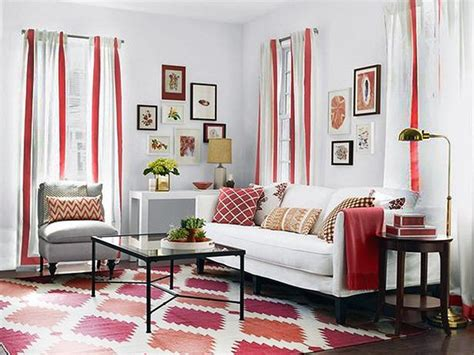 red and white curtains for living room red white living room decoration ideas