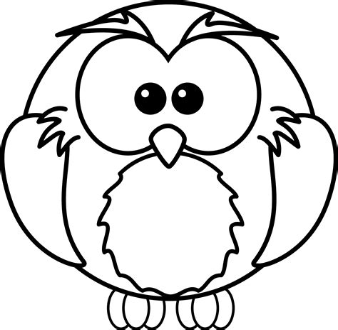 Pictures Of Owls To Color by Free Printable Owl Coloring Pages For