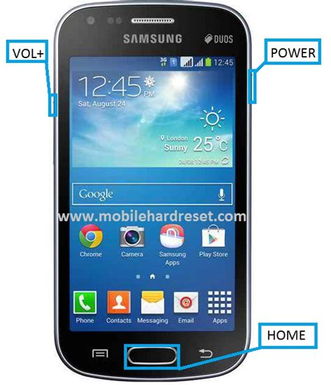 reset samsung duos to factory settings samsung galaxy s duos 2 s7582 hard reset