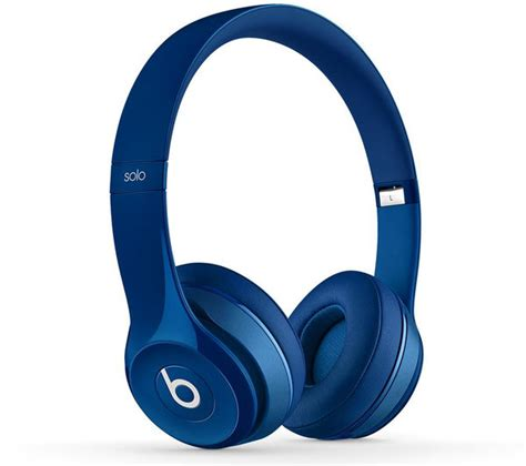 Headphone Beats Blue buy beats by dr dre 2 headphones blue free delivery currys