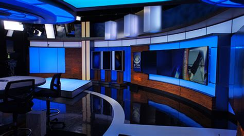 New The Room Anchorage Cbs Station Debuts New Newsroom Set