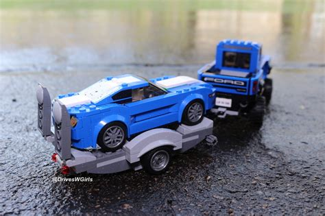lego ford set we take the ford lego mustang gt raptor for a drive