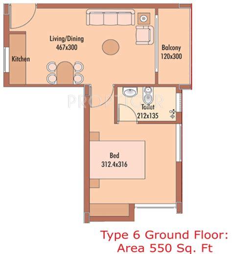 550 sq ft 1 bhk floor plan image dasnac designarch e top templenext in guruvayoor thrissur price location