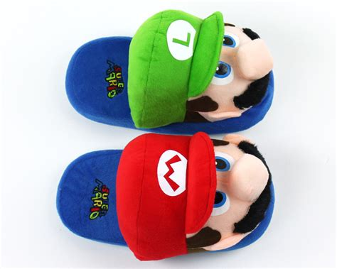 luigi slippers mario and luigi slippers mario slippers nintendo slippers