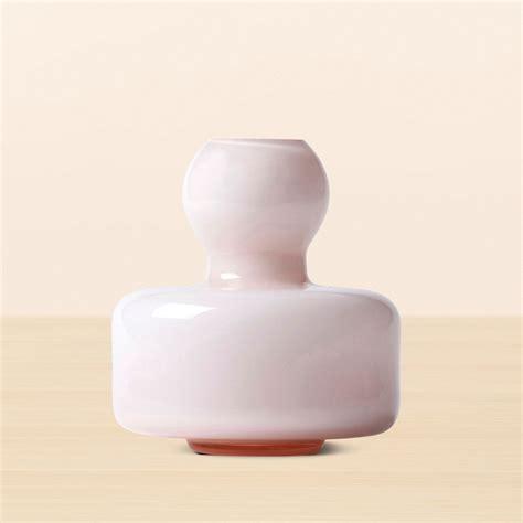 marimekko powder pink flower vase unique gifts for