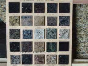 different colors of granite granite color charts and granite sles