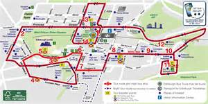 Hop On Hop Off Los Angeles Map by Hop On Hop Off Bus London Route Map London Map