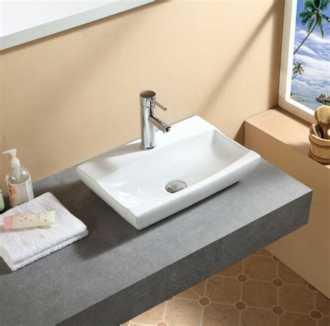Sink Countertop Bathroom by Bathroom Countertop Ceramic Basin Sink Hs91b Ebay