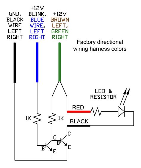 excellent 12v led turn signal wiring diagram gallery