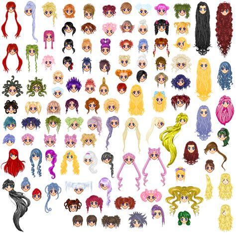 chibi base with hair related keywords chibi base with