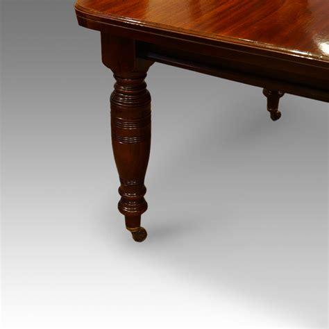 mahogany extending dining table circa 1880