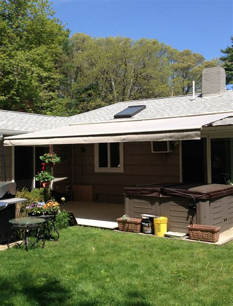 sunsetter oasis freestanding awning sunsetter oasis freestanding awnings boston ma wenham ma