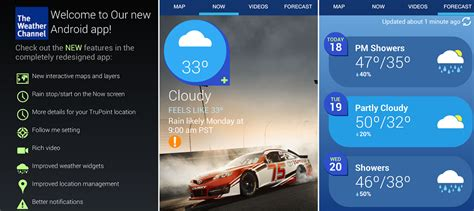 the weather channel mobile the weather company s mobile ad forecast it s raining