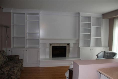 Built In Wall Units With Fireplace by Fitak Custom Woodworking Inc Napanee Ontario Kitchen