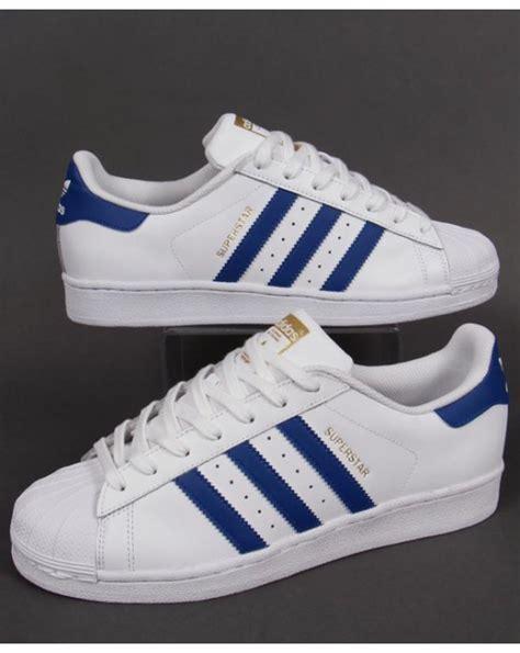 Blue Stripe Shoes adidas superstar shoes blue stripes frankluckham co uk