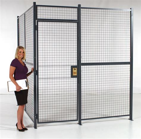 wire partitions  security cages  commercial