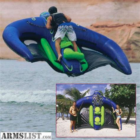 flying boat tube video armslist for sale trade manta ray flying tube