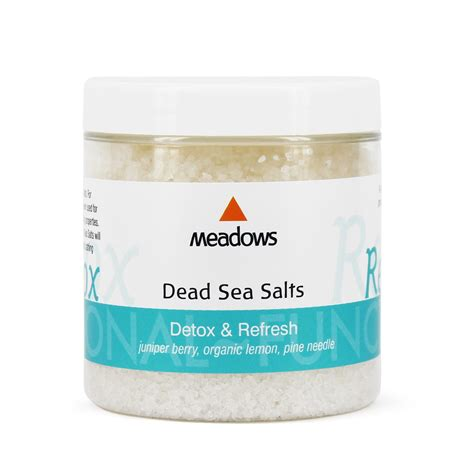 Sea Salt Diet Detox by Dead Sea Salts Detox Aroma 300g Buy Whole