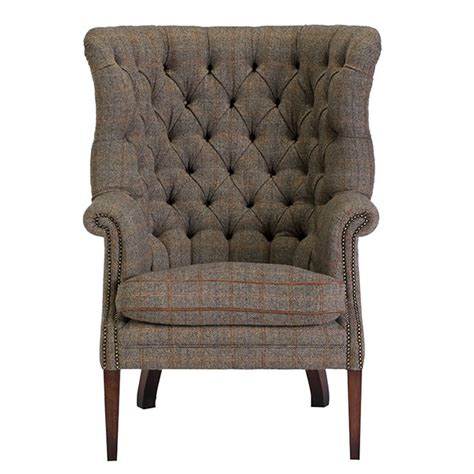 sofa and armchair tetrad harris tweed sofas chairs barker and stonehouse