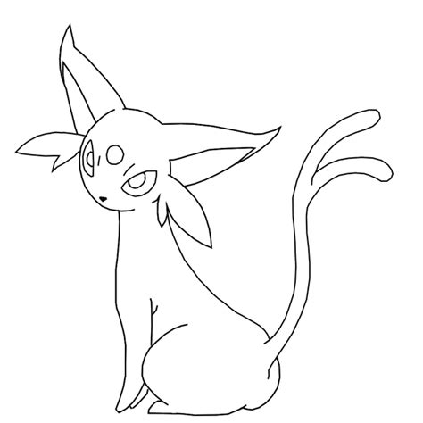 Espeon Free Coloring Pages Espeon Coloring Pages