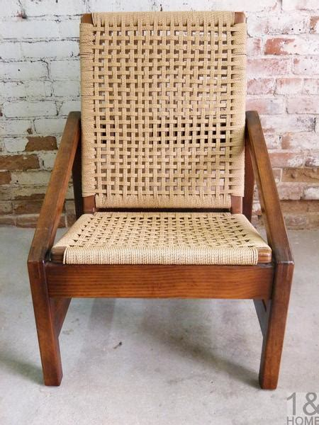 hans wegner danish modern mid century style folding rope chair   home denver colorado