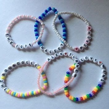 Letter Bead Bracelet Ideas custom letter bead bracelets must be 15 letters