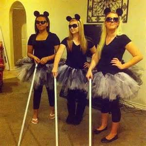 Music For Three Blind Mice Halloween Costumes 2017 Halloween Group Costumes For