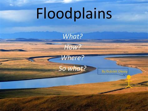 what are floodplans floodplain presentation