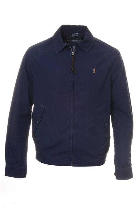 Jaket Parka Tipe A Polos Navy polo ralph jacket in navy blue a30j6917c6644 clothing from clothing uk