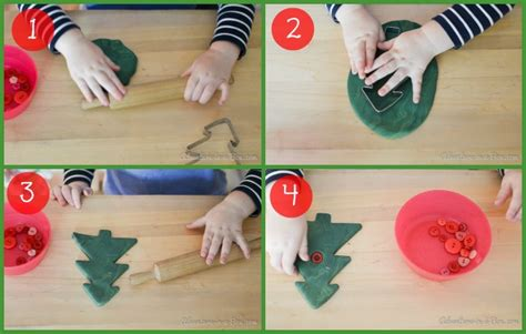 how to make simple clay christmas trees tree clay ornaments