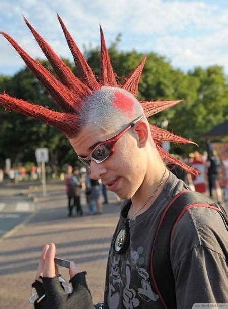 spikey mohawks punk haircuts 40 best punk hairstyles for boys and men