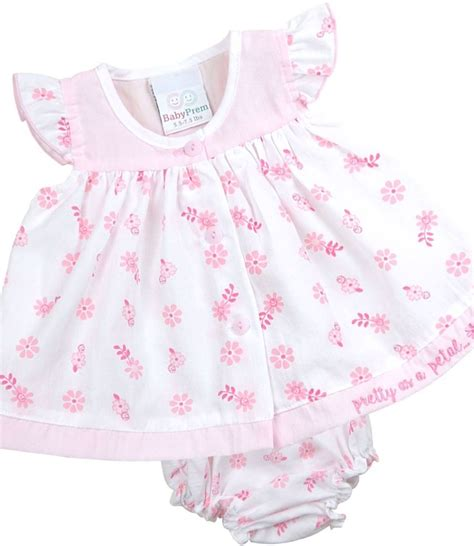 Lb Dress Set babyprem premature newborn baby dress set pink