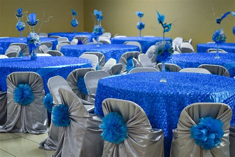 quinceanera themes blue the gallery for gt quinceanera decorations blue