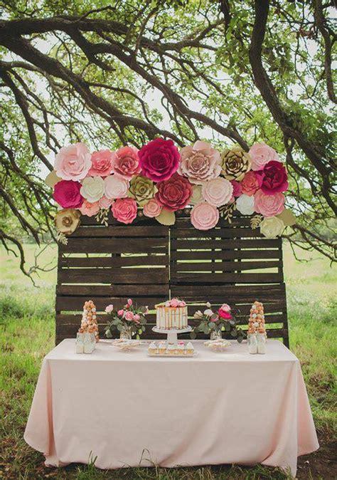 design your own wedding backdrop diy paper flower backdrop by paperflora com paperflora