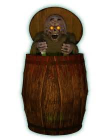 Animated Halloween Decoration Animated Zombie Barrel Prop Halloween Decorations Wiki