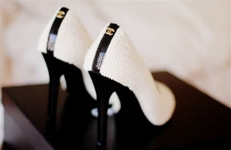 chanel chanel shoes fashion high heels image 459391