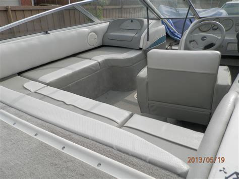 boat upholstery around me redesigned the old 1995 boat from 2 seats and a bench to