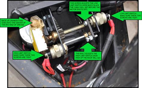 Coleman Camper Awning Replacement Power Lift System Will Lower But Not Raise Forest River