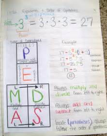 math interactive notebook templates math order of operations pemdas foldable and
