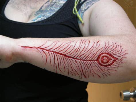 tattoo infection on forearm les 15 tatouages les plus extr 234 mes faits par scarification