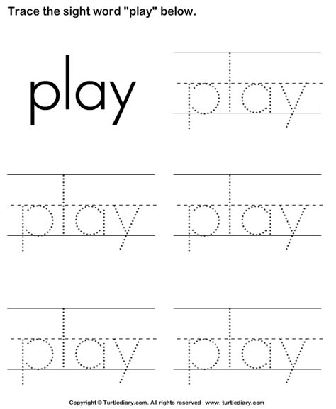 Free Printable Kindergarten Sight Word Worksheets by Sight Word Worksheet New 942 Sight Word Trace Worksheet