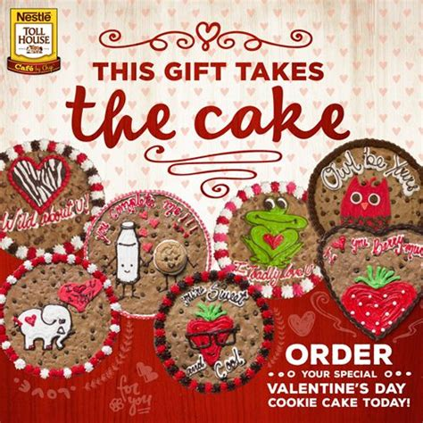 great american cookie valentines make this s day the sweetest with cookie