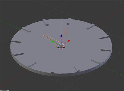 tutorial membuat jam dinding di blender yuk buat jam dinding di blender 3d bagian 1 digital